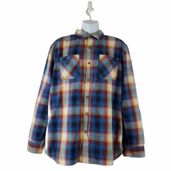 American Eagle Mens Button Front Shirt Size XL